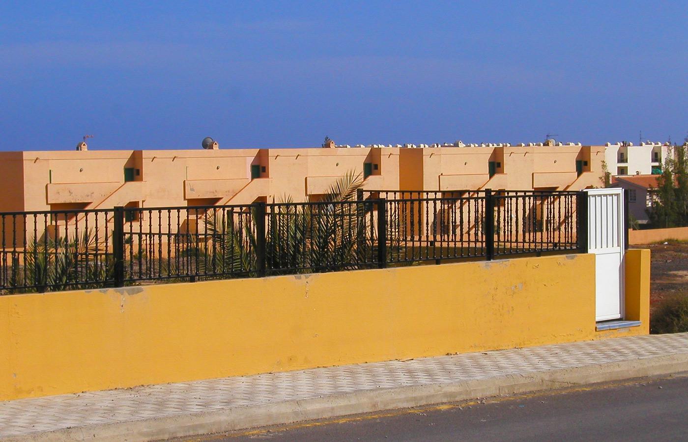 Vallado para viviendas en Fuerteventura