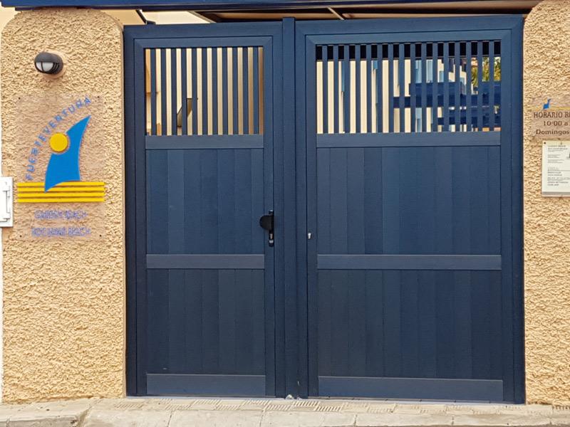 Cerramientos para ampliación de espacios en viviendas en Fuerteventura